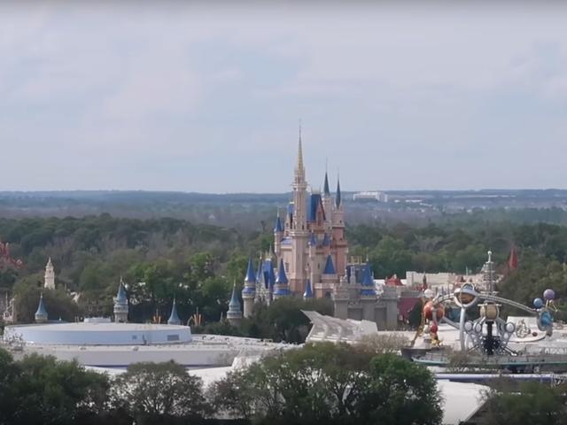 Tanrı'nın iradesi! Disney Toprakları terkedilmiş ve savunmasız!