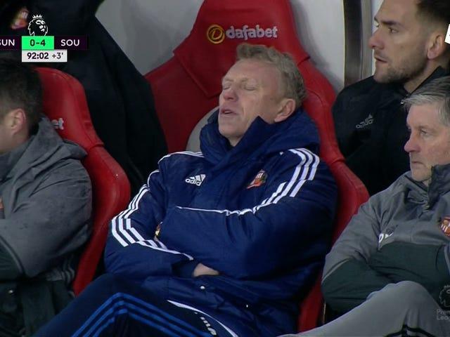 "Tweeting ""게임 오버""후 2 분, Sunderland는 다시 득점했습니다."