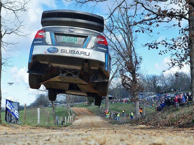 Subaru's Ultra-Dominant Rally America Team vil konkurrere i ny serie i 2017