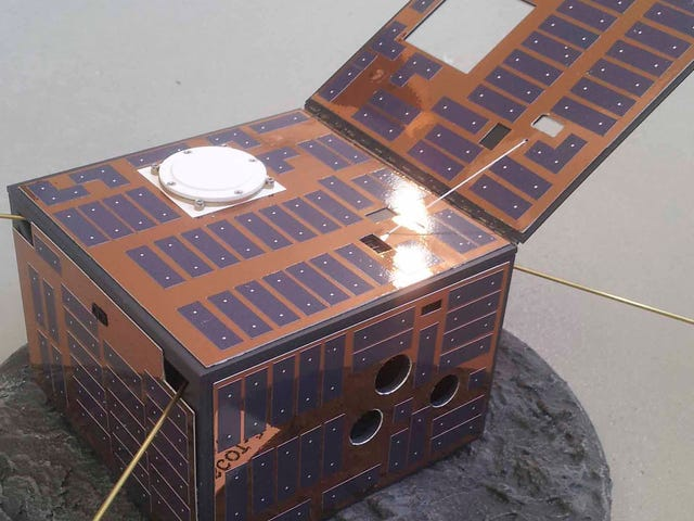 A Little Box Like This Should Tell Us What Life Is Like on the AsteroidDidymoon