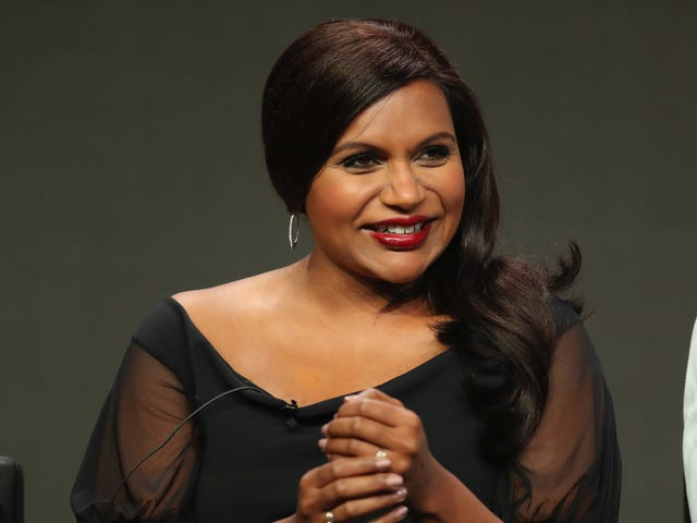 Mindy Kaling Says Keep Shaming White Men in Hollywood About the Pay Gap, It's Working