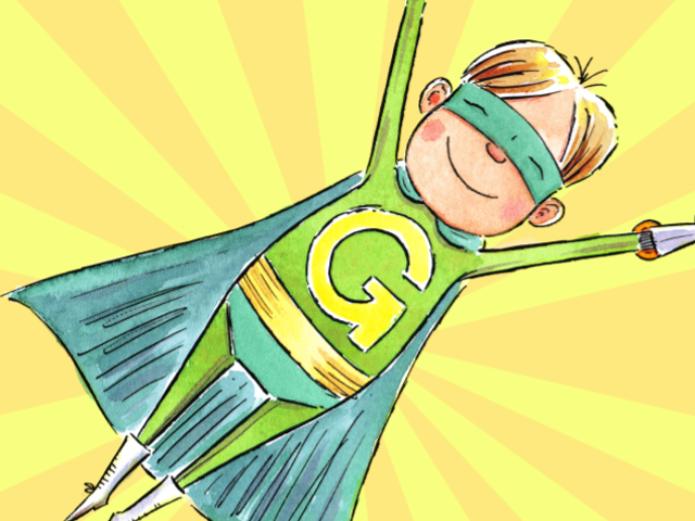 Captain Green Is the New Superhero Who Could Convince Your Kid to Ditch Plastics