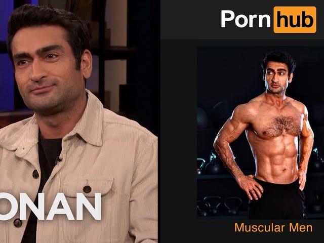 Co ogląda Kumail Nanjiani na swojej subskrypcji Pornhub Premium?