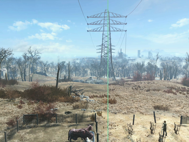 The Difference The PS4 Pro Patch Makes In Fallout 4