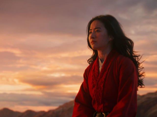 Mulan vil være Disneys første PG-13 Live-action-genindspilning