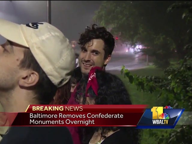 Baltimore Removes 4 Confederate Statues Overnight