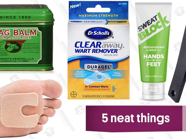 The Products You Need to Fix Five Common Nasty Foot Problems