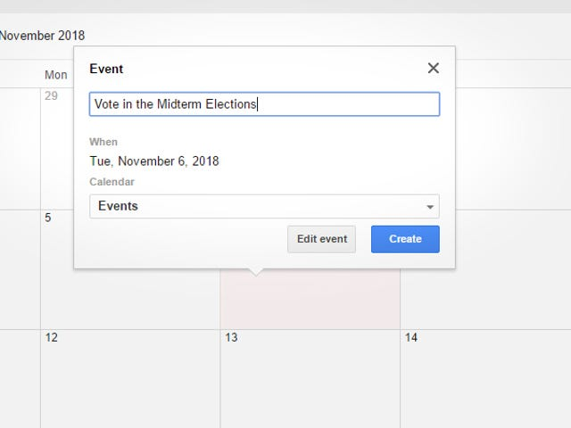 Add the Midterm Elections to Your 2018 Calendar Now While You Still Remember