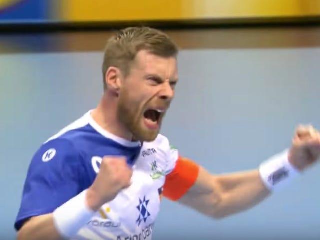Here Is A Cool-Ass Handball Highlight