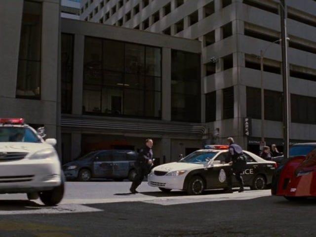 Camry police car?