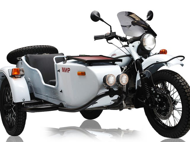 ​Live Your Cosmonaut Fantasies With This MIR-Replica Sidecar