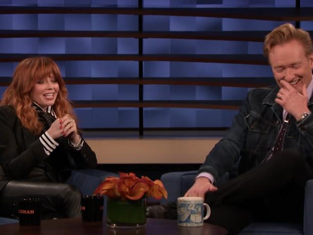 Natasha Lyonne has Conan in stitches dissing her Emmy chances