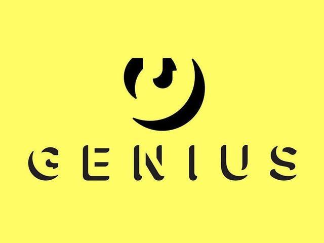 Genius esconde un mensaje en morse en sus letras de canciones para demostrar que Google las roba