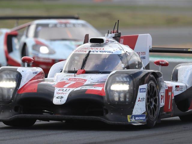 Đó không phải là một cảm biến lốp bị lỗi đã hạ gục chiếc xe Toyota Le Mans hàng đầu