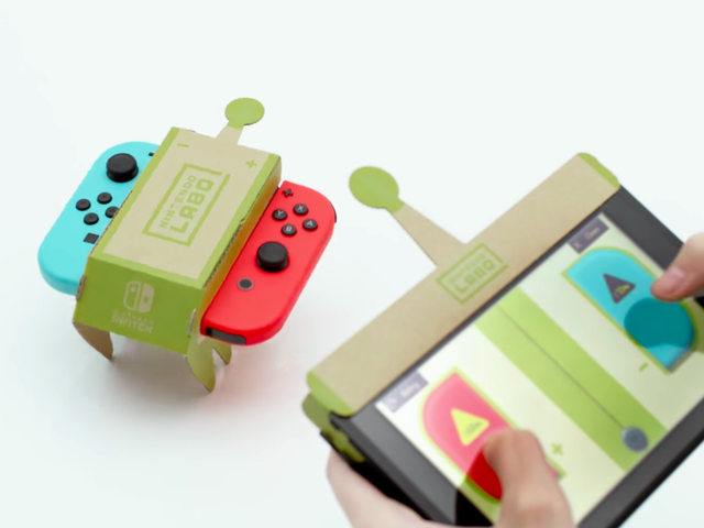 Nintendo Labo Will Let You Program Your Own Custom Robots