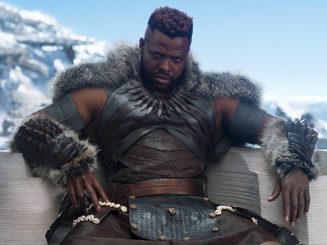 Η θρησκεία της φυλής Jabari του <i>Black Panther</i> εγείρει ερωτήσεις σχετικά με τις πολιτιστικές πιστώσεις