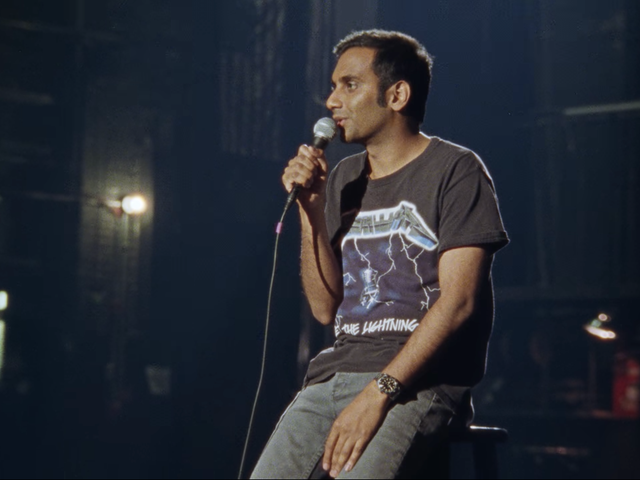 Aziz Ansari Effectively Interrogates Others, But Not Himself, in Netflix Standup