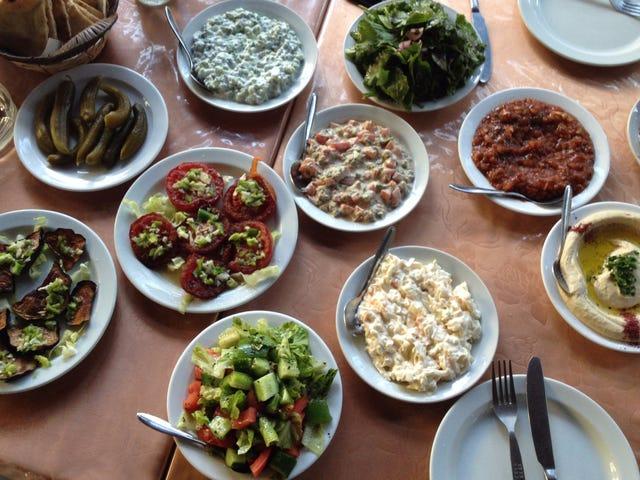 """""""Faites du houmous, pas des murs"""": visite gastronomique de Ramallah"""