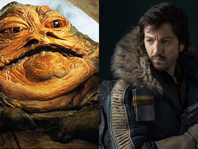 Diego Luna <i>Really</i> Wants to Touch Jabba the Hutt