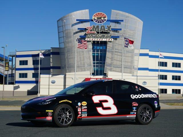 แฟนนาสคาร์มีผู้สนับสนุนให้ซื้อเทสลารุ่นที่ 3 ด้วย Dale Earnhardt Tribute อย่างไร