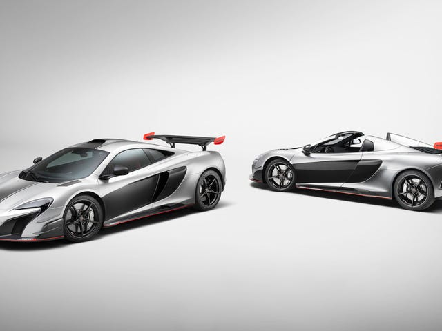 Presumably Wealthier-Than-Average Person Buys Two Custom McLaren Supercars