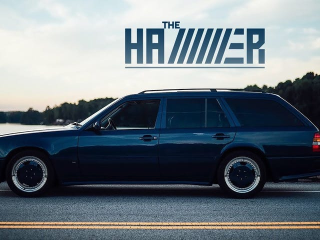 This 1987AMGHammer Wagon Is A Hero From Another Time