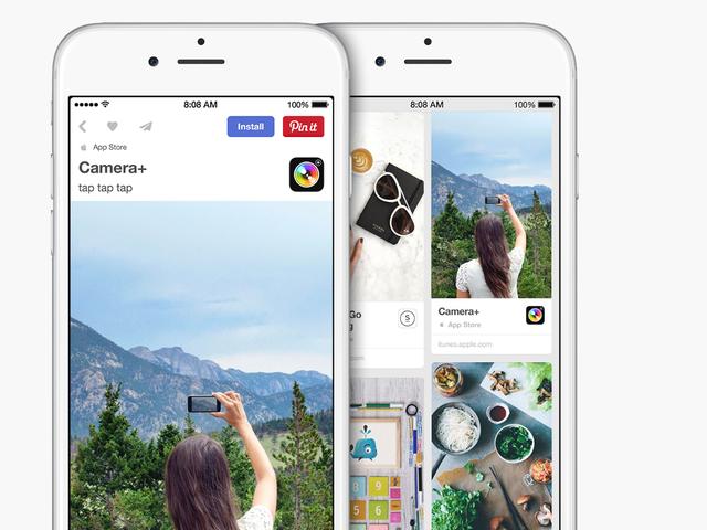 Løsningen til forfærdelig iOS App Store Navigation er ... Pinterest?