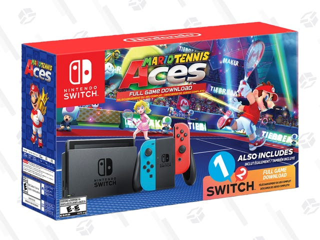 The Nintendo Switch Mario Tennis Aces/1-2 Switch Bundle Is Up For Preorder