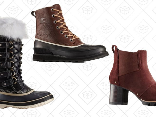 Make Dealing With This Weather a Piece Of Cake With Up to 65% Off Sorel Boots