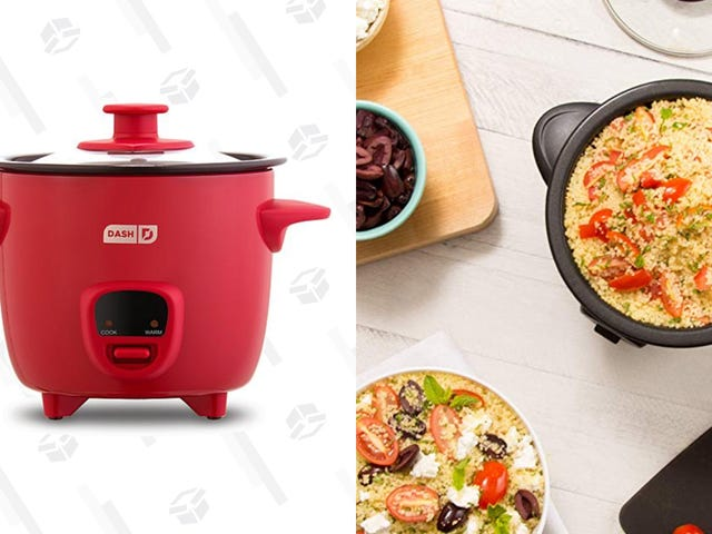 Have Rice for Dinner Every Night When You Buy This $20 Dash Mini Rice Cooker