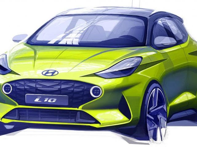 The New 2020 Hyundai i10 Teaser Hints At One Hell Of A Badass Little Car