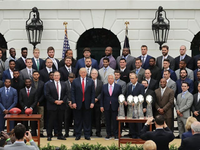 The Patriots Want You To Know That Photos Didn't Capture Their Players' Snub Of The White House