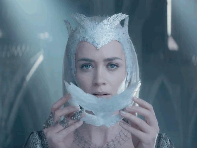 Huntsman und die Eiskönigin ist eine bessere Anpassung der Schneekönigin als Gefrorenes ..... (Spoiler)