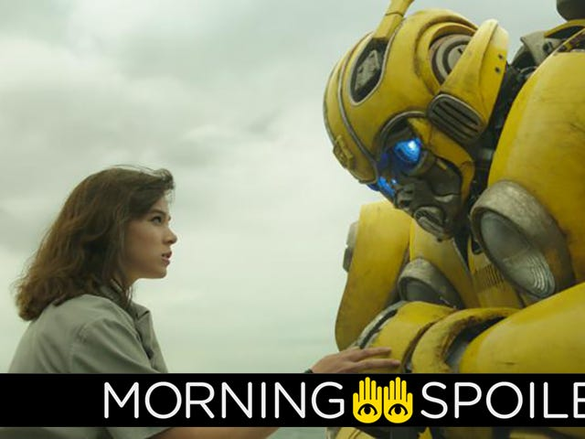 Bumblebee Is Granted a Voice, the Halo Series Loses a Key Figure, and More