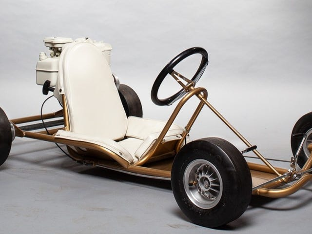 Ce kart de Rupp Dart de 1965 rappelle une ère de karting plus élégante