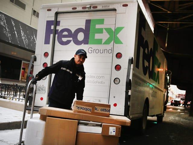 TIL: FedEx is run really oddly