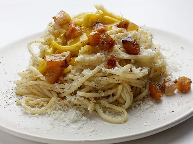 Lessons from the school of spaghetti carbonara