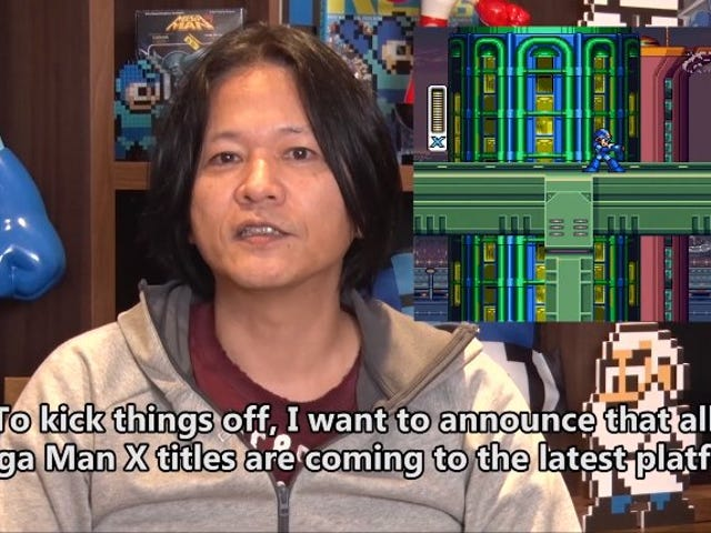 Mega Man XGames Coming To PS4, Xbox One, Switch, PC