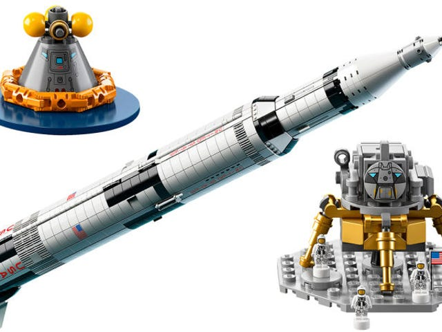 Anyone want to know about the Lego Saturn V
