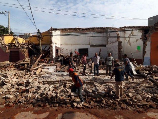 El mortal terremoto que arrasó México el pasado día siete tuvo su epicentro en un lugar muy poco común