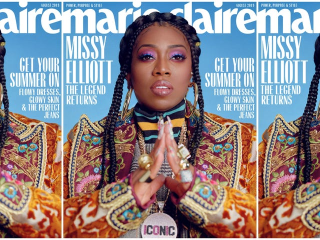 'I Am a Champion for My Brown, Dark Women': Living Legend Missy Elliot Covers Marie Claire