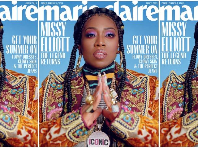 «Είμαι Πρωταθλητής για τις Καφέδες μου, Σκοτεινές Γυναίκες»: Ζώντας Θρύλος Missy Elliott Καλύπτει Marie Claire