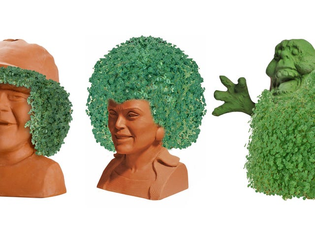 Rick and Morty, Stranger Things, and Ghostbusters Chia Pets Are Coming Soon