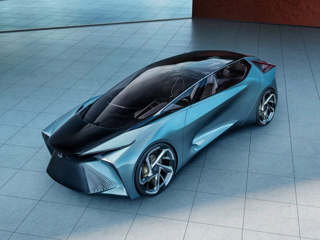 Lexus' LF-30 Electrified Concept Has A Drone Support Vehicle