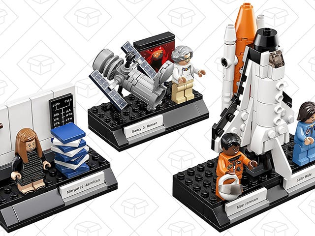 Grab Your Women of NASA LEGO Set Before It Falls Out of Orbit