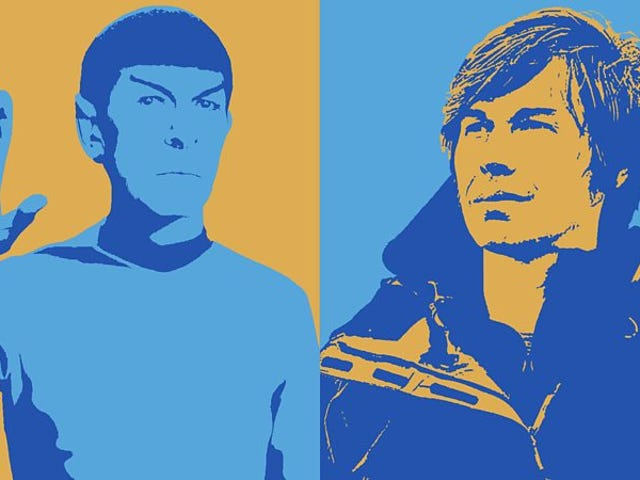 Spock or Brian Cox?