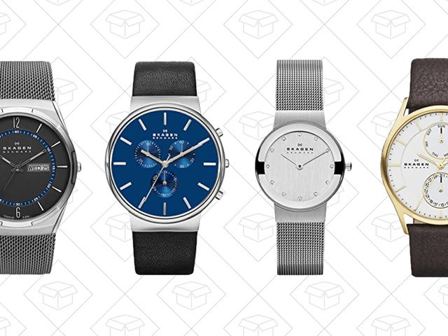 Don't Let Time Tick Away on This One-Day Skagen Sale from Amazon