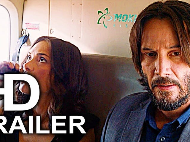 The Clashtalk Keanu fanclub presents: The Destination Wedding trailer