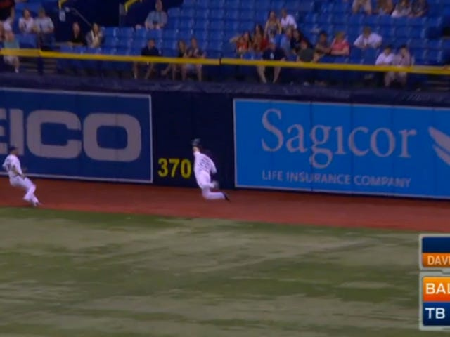 Check Out This Outrageous, Leaping Steven Souza Catch