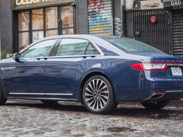 The Lincoln Continental Is Getting Suicide Doors: Report